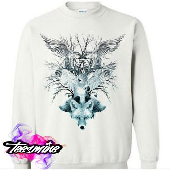 Animal Crewneck Sweatshirt