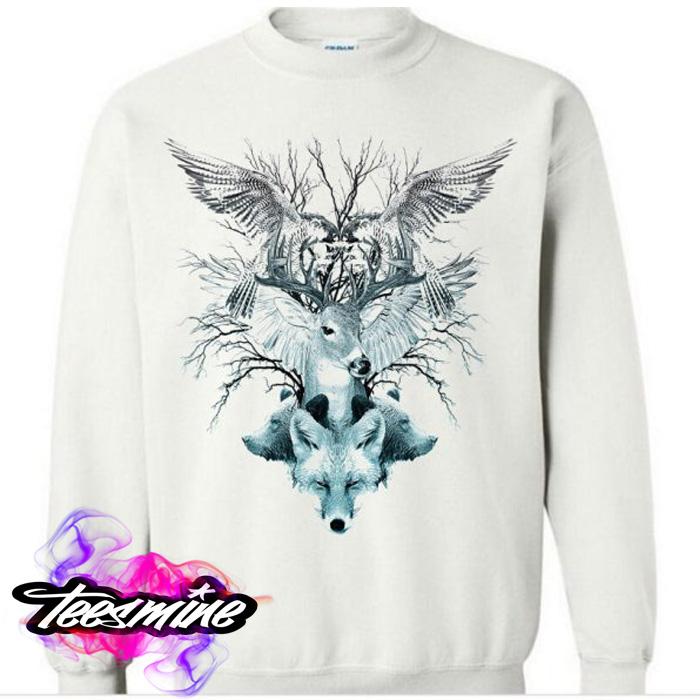 e0fe396acfc3 Animal Crewneck Sweatshirt