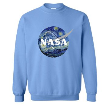 Artsy Nasa Crewneck Sweatshirt