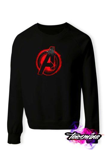 Avangers Logo Crewneck Sweatshirt