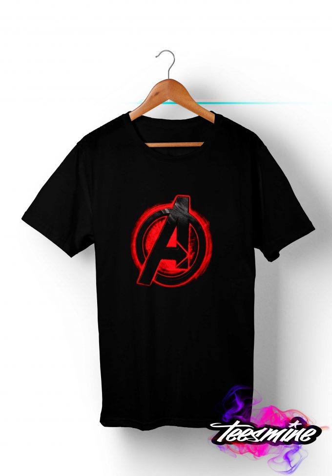 Avangers Logo T shirt