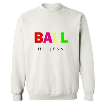 Ball He Jean Crewneck Sweatshirt