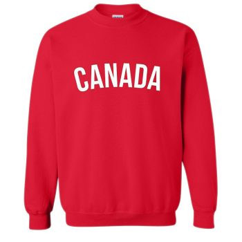 Canada Red Crewneck Sweatshirt