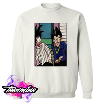 Goku And Vegeta Dragon Ball Crewneck Sweatshirt