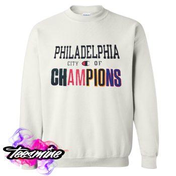 Philadelphia City of Champions Crewneck Sweatshirt