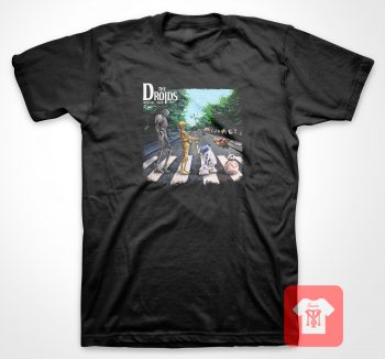 Abey Road The Droids T Shirt