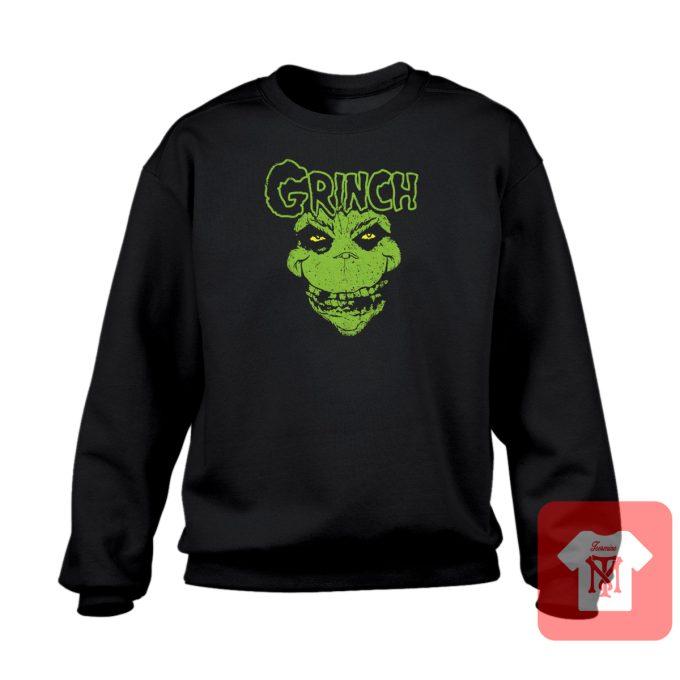 Grinch Christmas Misfits Crewneck Sweatshirt