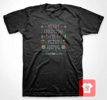 Merry Christmas Home Alone T Shirt