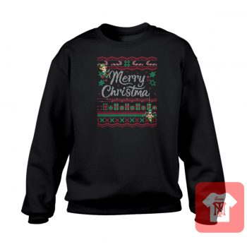 Merry Christmas Ugly Crewneck Sweatshirt