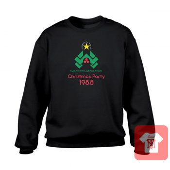 Nakatomi Corp Christmas Party Crewneck Sweatshirt