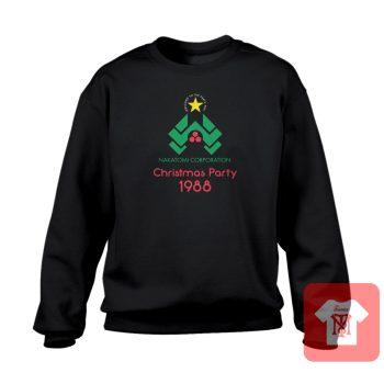 Nakatomi Corp Christmas Party Crewneck Sweatshirt