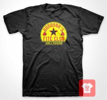 Donovan Fite Club Hollywood T Shirt