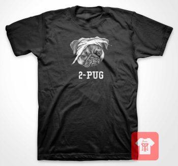 2 Pug Parody T Shirt
