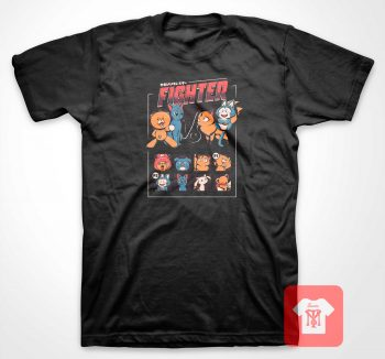 Anime Fighter Parody T Shirt