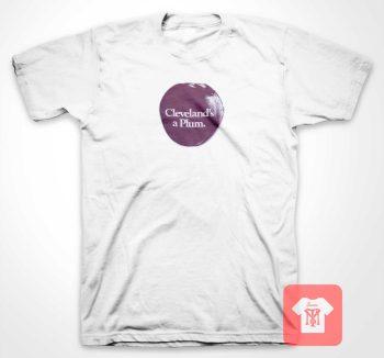 Cleveland Plum T Shirt