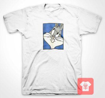 Bunny Thinks Blue Box T Shirt
