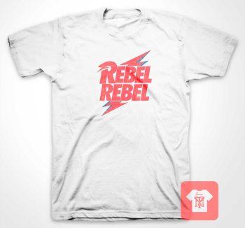 David Bowie Rebel Bolt T Shirt