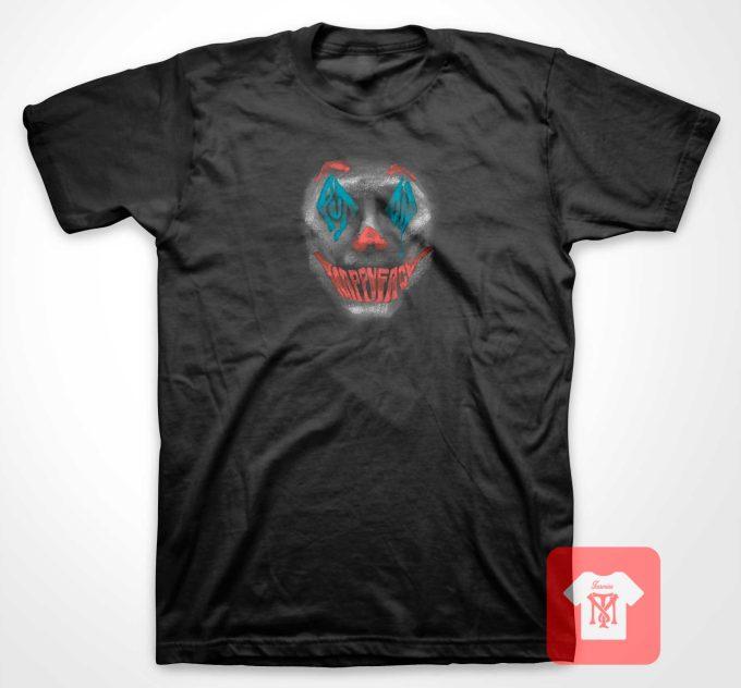 Joker Smile Happy Face T Shirt