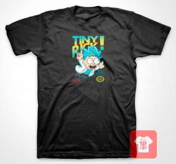 Rick and Morty Tiny Rick T Shirt