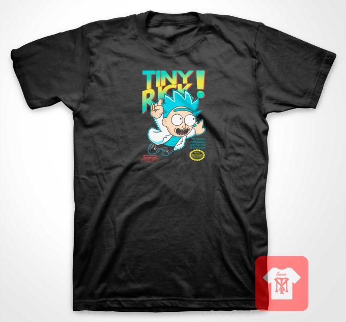 Rick and Morty Tiny Rick T Shirt