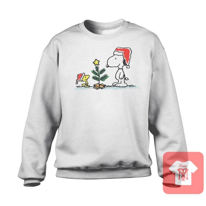 Snoopy Christmas Tree Sweatshirt