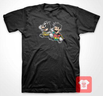 Batman and Robbin Bros T Shirt