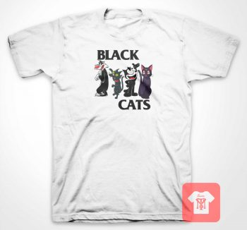 Black Cats Flag T Shirt