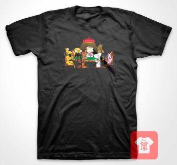 Dogs Playing Poker T Shirt