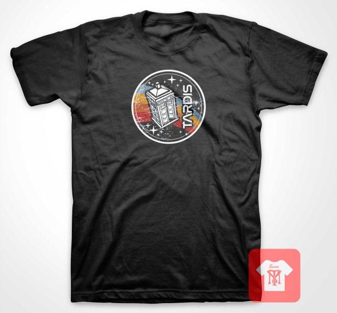 Vintage Tardis T Shirt