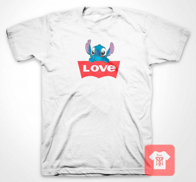 Love's Stitch Logo T Shirt