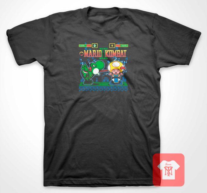Mario Kombat T Shirt