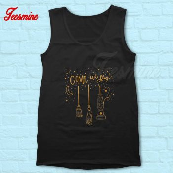 Halloween Come We Fly Tank Top