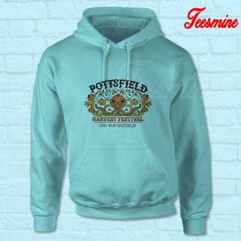 Pottsfield Harvest Festival Hoodie Light Blue
