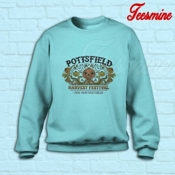 Pottsfield Harvest Festival Sweatshirt Light Blue