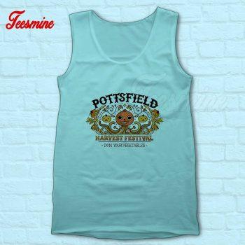 Pottsfield Harvest Festival Tank Top Light Blue