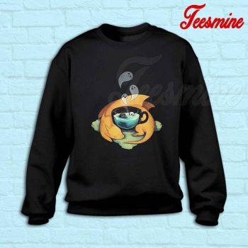 Pumpkin Halloween Dragon Sweatshirt