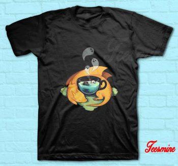 Pumpkin Halloween Dragon T-Shirt