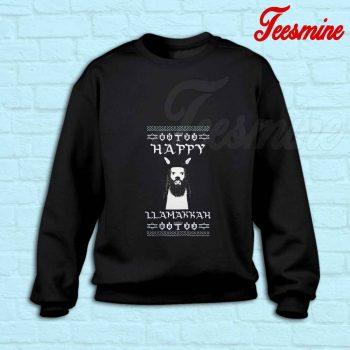 Ugly Llamakkah Sweatshirt